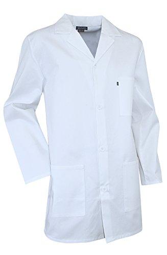 Camice bianco chimica studente e liceale pigmento LMA bianco XXS