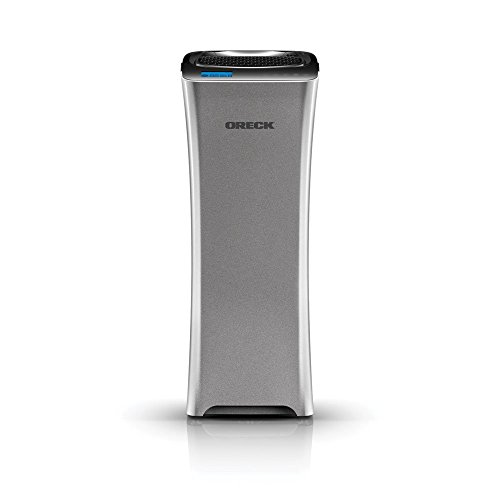 Oreck WK15500B Air Refresh 2-in-1 Hepa Air Purifier & Ultrasonic Humidifier for Small Rooms, (Oreck Charcoal Air Filters compare prices)