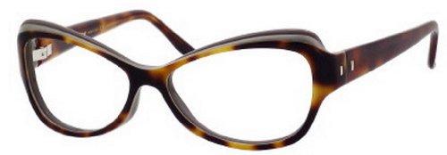 Yves Saint LaurentYves Saint Laurent 6369 Eyeglasses-0LQ9 Havana Beige Gray-54mm