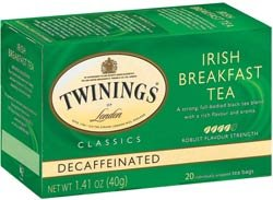 Twinings Irish Breakfast Decaf Tea - 4-Pack