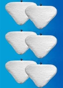 6 Replacement Pads Compatible With H2O H20 Steam Mop