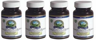 Naturessunshine Vitamin E Complete With Selenium 400 Iu Supports Circulatory System 60 Softgel Capsules (Pack Of 4)
