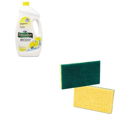 Kitcpm42706Ctpmp174 - Value Kit - Colgate Palmolive Automatic Dishwashing Gel (Cpm42706Ct) And Premiere Pads Medium Duty Scrubbing Sponge (Pmp174) back-58076