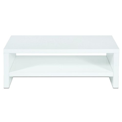 Levv TV1100WHG High Gloss TV Stand For Up to 50-inch Screens - White