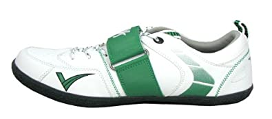 VS Athletics Mens Centrifugal Throw Shoe White/Green Size 6.5