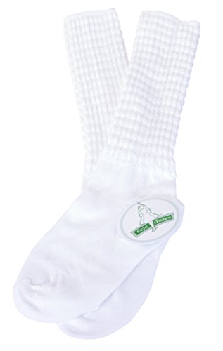 Irish Dance Championship Length Poodle Socks Regular (Small)