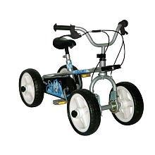Quadrabyke Wave Three Bikes in One - Blue, 12-Inch
