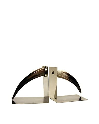 Contrast, Inc. Set of Two Horn Book Ends