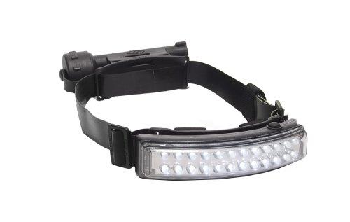 Foxfury 400-009S Performance Tasker S Led Helmet Light/Headlamp With Silicone And Elastic Strap, 64 Lumens