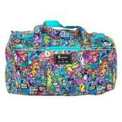 Ju-Ju-Be Starlet Travel Duffel Bag, Tokidoki Kaiju City from Ju-Ju-Be