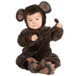 Plush Monkey Newborn / Infant Costume