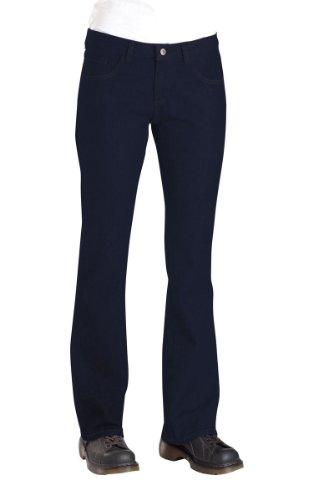 Dickies-Jeans da donna 5 tasche FD231 jeans, 0.50, Rinsed Indigo Blue
