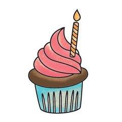 Cupcake Hello, Cupcake! Snag 'Em Stamp (Imaginisce)