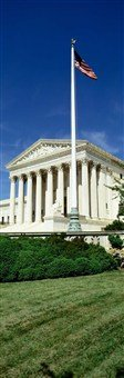 Us Supreme Court, Washington Dc, District Of Columbia, Usa Art Poster Print Panoramic Images 12X36