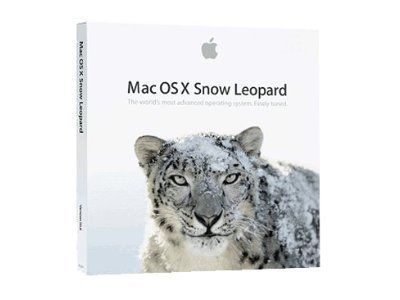 Mac OS X Snow Leopard DVD-ROM Full Version In Retail Box
