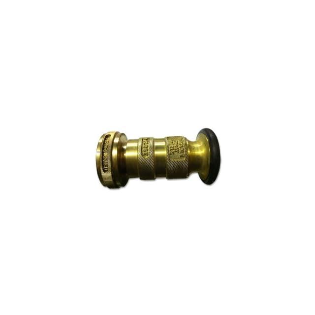 Fire Hose Nozzle 1.5 Cast Brass NST UL/FM (20/30#)