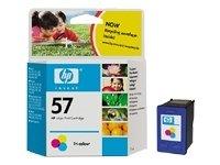 HP 57 Tri-colour Inkjet Print Cartridge: C6657A