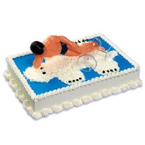 Amazon.com: SEXY Macho Man Cake Topper KIT: Kitchen & Dining