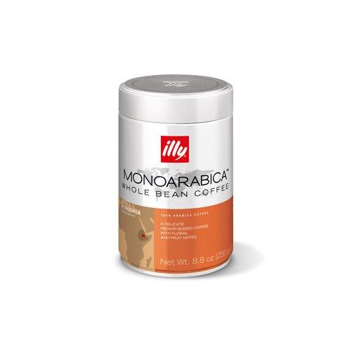 Illy Caffe 8.8 Oz Whole Bean Ethiopia-Monoarabica 7881