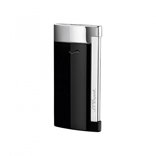 st-dupont-slim-7-lighter-black-lacquer-chrome