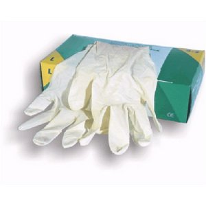 max line hs17 xl single use latex gloves length 192 204 mm width 229 279 mm box of 100. Black Bedroom Furniture Sets. Home Design Ideas
