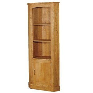 Boston Range - Oak Wood Corner Cupboard