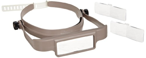 Donegan Osc Optisight Binocular Magnifying Visor, Tan
