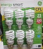 GE 23 Watt Energy Smart CFL - 100 Watt Replacement (pack of 12)