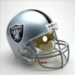 Oakland Raiders NFL Replica Full Size Helmet (Unsigned) Memorabilia Lane &... by Memorabilia Lane & Promotions