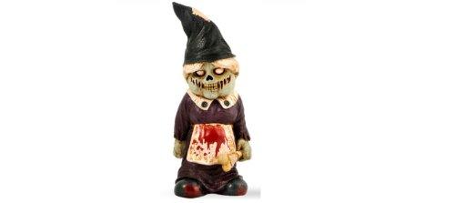 Zombie Woman Gnome
