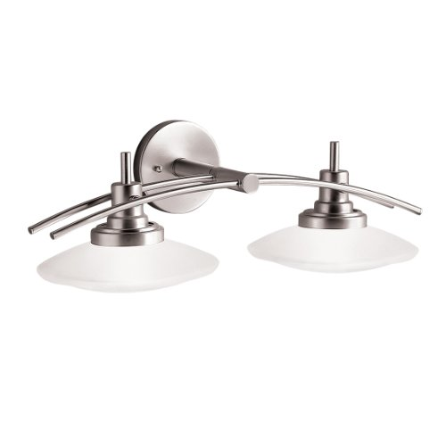Sabuyshop03: Kichler Lighting 6162NI Structures Wall-Mount 2-Light ...