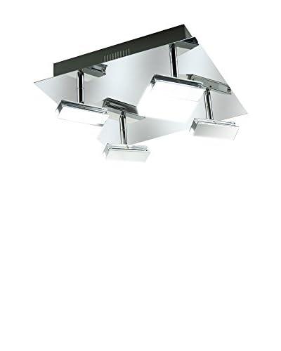 WOFI Lámpara De Techo LED Sonett cromo