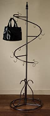 Spiral Purse Tree Retail Rack Display - Pointed Top