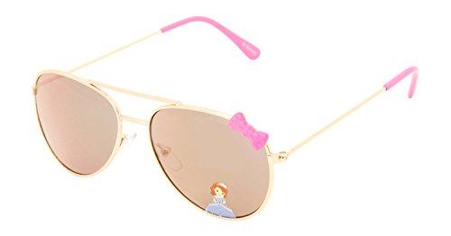 Disney Aviator Girls' Sunglasses (SG100433 | 50 | Grey)