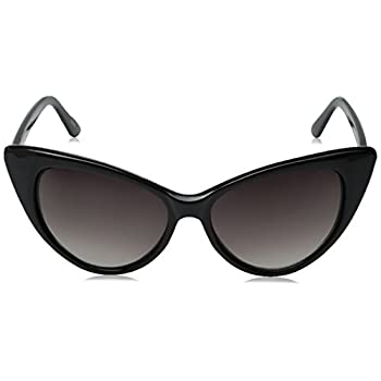 zeroUV - Super Cateyes Vintage Inspired Fashion Mod Chic High Pointed Cat-Eye Sunglasses
