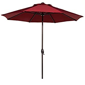 Abba Patio 9 Ft Outdoor Market Aluminum Umbrella