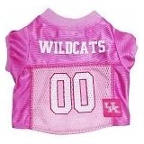 Mirage Pet Products Kentucky Wildcats Jersey For Dogs And Cats, X-Small, Pink