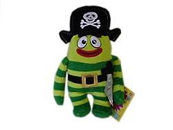 Yo Gabba Gabba Pirate Brobee Special Edition Plush Pals