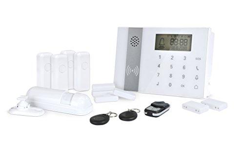 Zoomyo-GSM-Funk-Alarmanlagen-Set-Z-ALARM-009-inkl-9-tlg-Zubehr-bis-zu-98-Sensoren-Touchbedienfeld-und-RFID-Kontaktchip