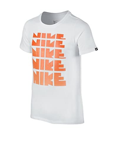 Nike Camiseta Manga Corta Stmt Ctn Dna Repeat Yth