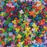 Plastic Goldilock Tri-Beads 11mm 1lb - Transparent Colors (Bag of 3100)