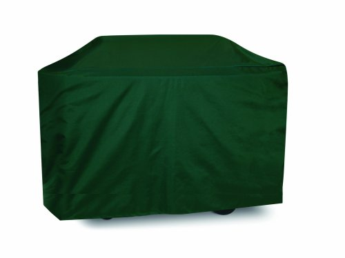 Two Dogs Designs 70-Inch Extra-Long Grill Cover, Hunter Green