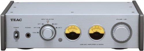 TEAC Reference 501 プリメインアンプ USB入力/192kHz/ハイレゾ音源対応 シルバー AI-501DA-S