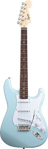 Squier by Fender BulletStrat w/Trem, Daphne Blue