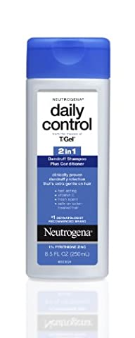 Neutrogena T/Gel Daily Control 2-in-1 Dandruff Shampoo Plus Conditioner, 8.5 Fluid Ounce