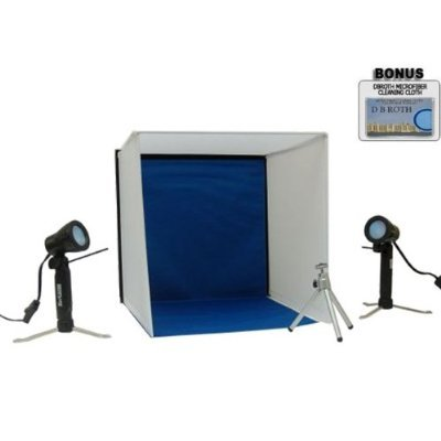 Portable Lighting Studio Ideal For The Sony Alpha Dslr-A290, A390 Digital Camera