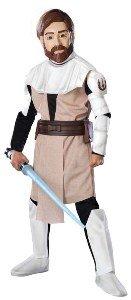 [Deluxe Obi-Wan Kenobi Costume - Large] (Obi Wan Kenobi Baby Costumes)