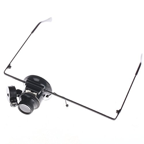 New Glasses Type Watch Repair Magnifier With Led Light front-592125