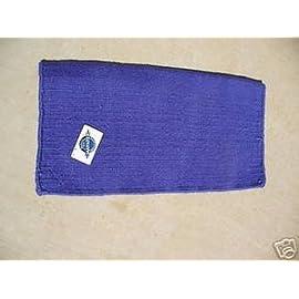 Mayatex Pony Saddle Blanket Wool Show Pad Purple Tack