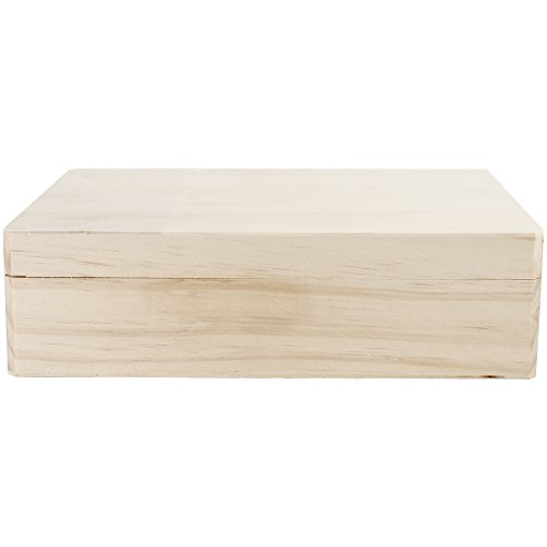 Darice 9157-69 Wood Hinged Memory Box (Craft Boxes With Lids compare prices)